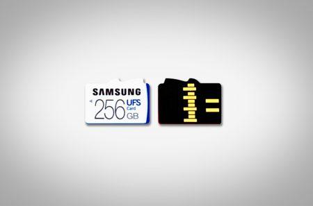 Samsung разработала слот, поддерживающий и UFS 1.0 и microSD карты памяти