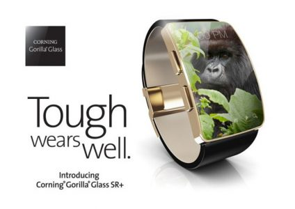 Corning создала защитное стекло для носимых устройств