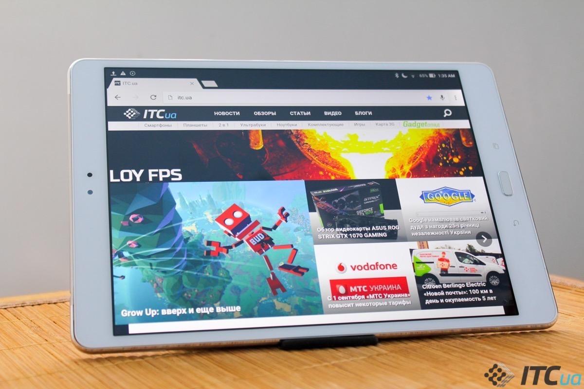 3d8e6870f757 Первый взгляд на планшет ASUS ZenPad 3S 10 - ITC.ua