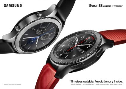 Samsung анонсировала умные часы Gear S3 в двух модификациях