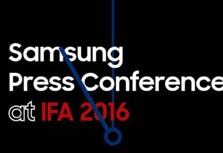 Видеотрансляция презентации Samsung с IFA 2016