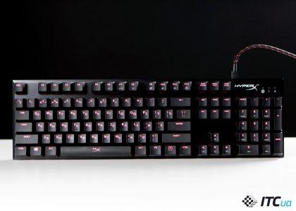 Обзор игровой механической клавиатуры HyperX Alloy FPS
