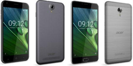 Представлены смартфоны Acer Liquid Z6 и Z6 Plus