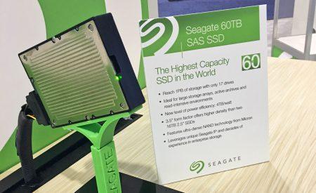 Seagate показала SSD на 60 ТБ