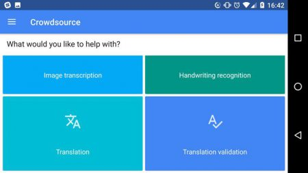 Google выпустила приложение Crowdsource, чтобы волонтеры могли улучшать переводы