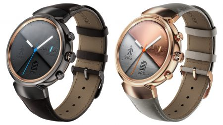 ASUS Zenwatch 3 — круглые умные часы на Android Wear