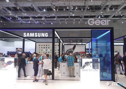 Первый взгляд на Samsung Gear S3 [IFA 2016]