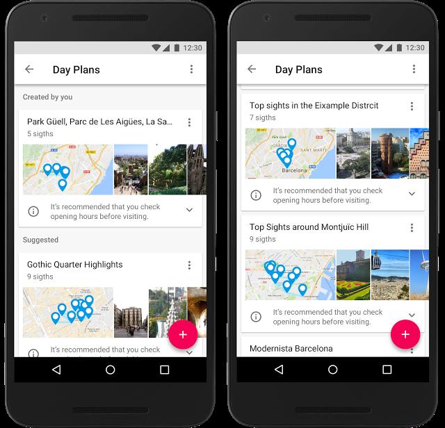 Google выпустила мобильное приложение для планирования путешествий Google Trips