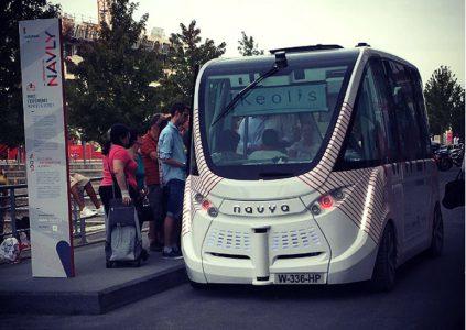 Лион первым в мире получил ежедневный маршрут с беспилотными автобусами