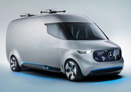 Mercedes работает над системами доставки грузов при помощи БПЛА и шестиколёсных роботов