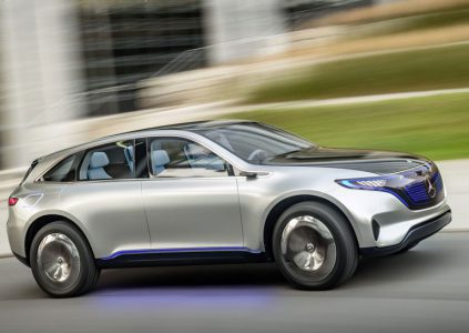 Mercedes представила новый бренд электромобилей EQ и концепт внедорожника Generation EQ