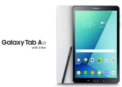 Samsung официально представила планшет Galaxy Tab A (2016) с поддержкой стилуса S Pen