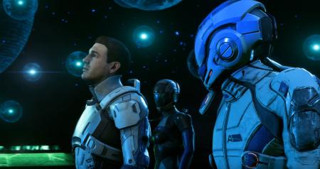 BioWare показала, как будет выглядеть Mass Effect: Andromeda в 4K