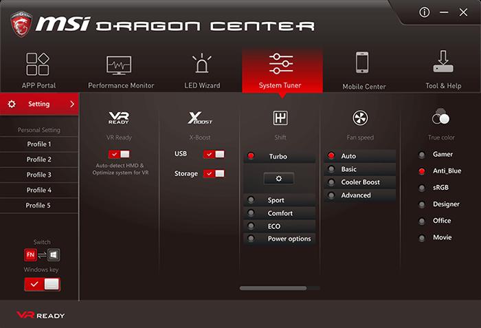 Компьютер-рюкзак MSI VR One оптимизирован для проектов виртуальной реальности