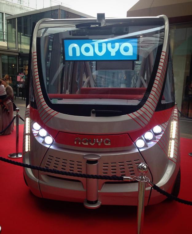 Лион первым в мире получил маршрут с беспилотными автобусами