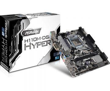 ASRock H110M-DS/Hyper — бюджетная системная плата для процессоров Intel Skylake с поддержкой разгона по BCLK