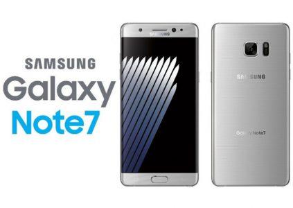 Samsung возобновит продажи смартфонов Galaxy Note7 с 28 сентября