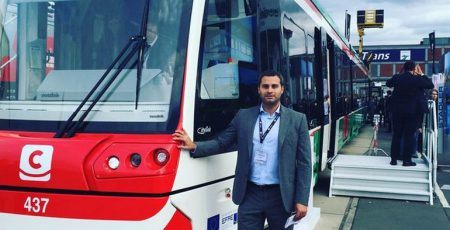«<s> Метро </s> Tram-Train на Троещину»: трамвай-электричка, способный передвигаться со скоростью до 120 км/ч, должен выйти на маршрут через 3-4 года
