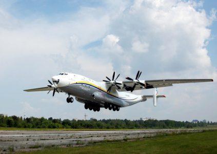 Самый большой в мире турбовинтовой самолёт Ан-22 «Антей» отправился в первый коммерческий рейс после восстановления и замены винтов