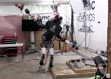 Boston Dynamics научила человекоподобного робота Atlas балансировать на одной ноге