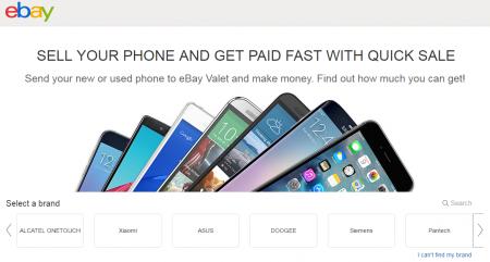 eBay запускает Quick Sale – сервис выкупа подержанных смартфонов