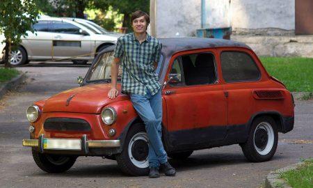 Украинская Tesla: студент КПИ построил собственный электромобиль на основе «горбатого» Запорожца и аккумуляторов Nissan Leaf
