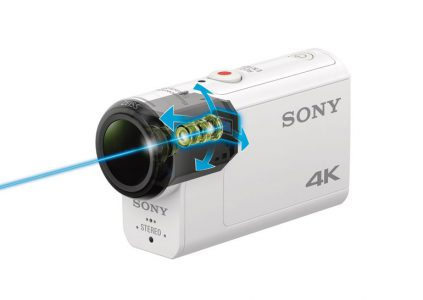 Экшн-камера Sony X3000R с возможностью снимать видео 4K и оптической стабилизацией оценивается в $400