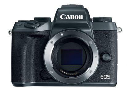 Представлена беззеркальная камера Canon EOS M5 с 24,2-мегапиксельным APS-C сенсором