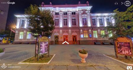Google Украина создала виртуальный 3D-тур по Киевскому театру оперетты