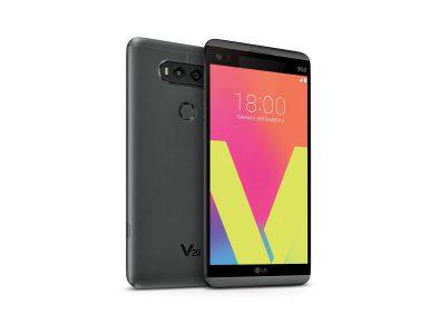 Представлен смартфон LG V20 с двумя экранами, двойной основной камерой, 32-разрядным ЦАП и ОС Android 7.0