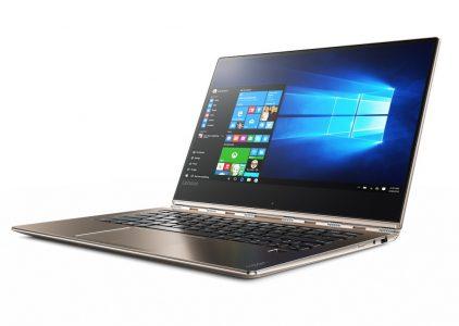 Компания Lenovo представила 13,9-дюймовый многорежимный ноутбук Lenovo Yoga 910 [IFA 2016]