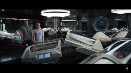 В сети появился официальный трейлер фантастического триллера «Пассажиры» с Дженнифер Лоуренс и Крисом Прэттом в главных ролях