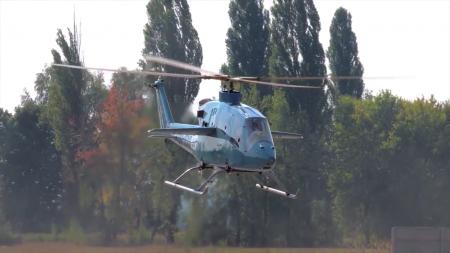 Новейший украинский вертолет SOFTEX AERO VV-2 совершил свой первый полет [видео]