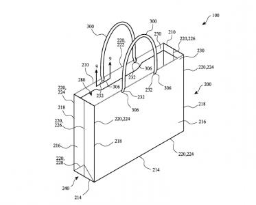Apple пытается запатентовать бумажный пакет