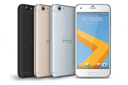 Представлен металлический смартфон HTC One A9s, оказавшийся упрощенной версией прошлогодней модели One A9