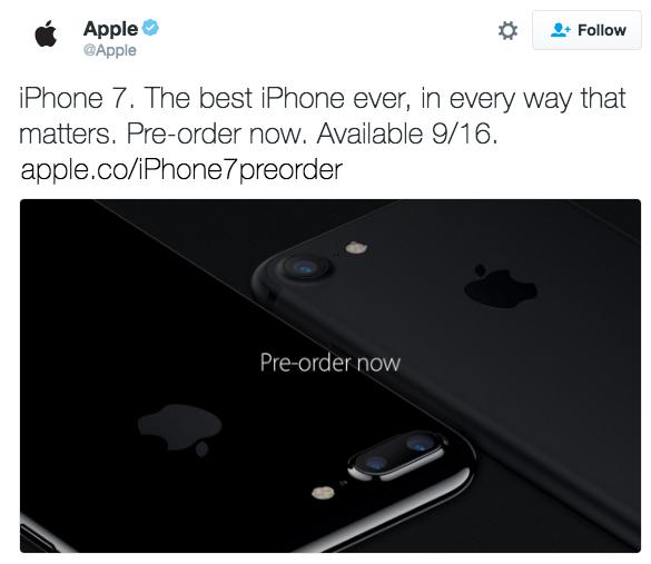 Представлен пыле- и водонепроницаемый смартфон Apple iPhone 7, версия iPhone 7 Plus получила сдвоенную основную камеру