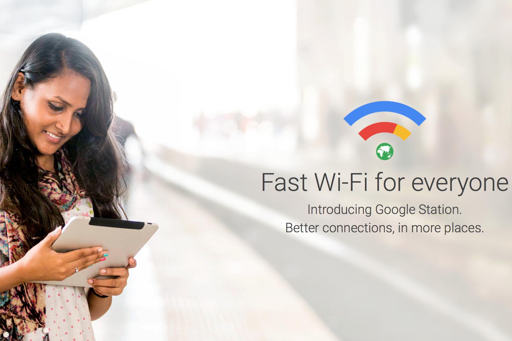 Google Station — новая платформа высокоскоростного общественного Wi Fi поискового гиганта