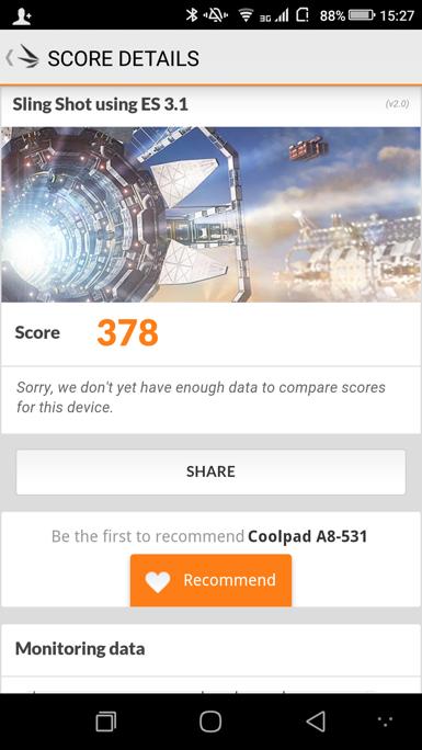 Обзор смартфона Coolpad Max (A8)
