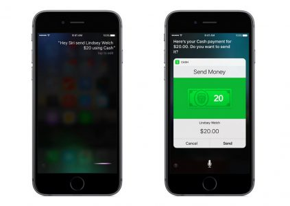«Siri, заплати моей жене $50»: после выхода iOS 10 разработчики ПриватБанка добавят в Приват24 функцию перевода денег с помощью голосового ассистента Apple