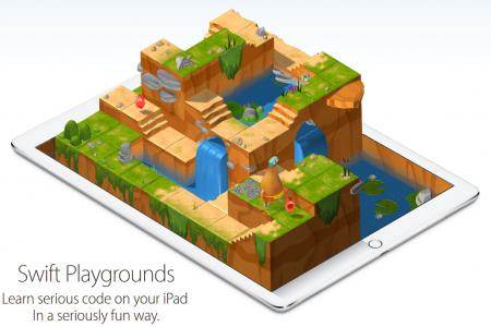 Приложение Swift Playgrounds для изучения программирования в игровой форме уже доступно в App Store