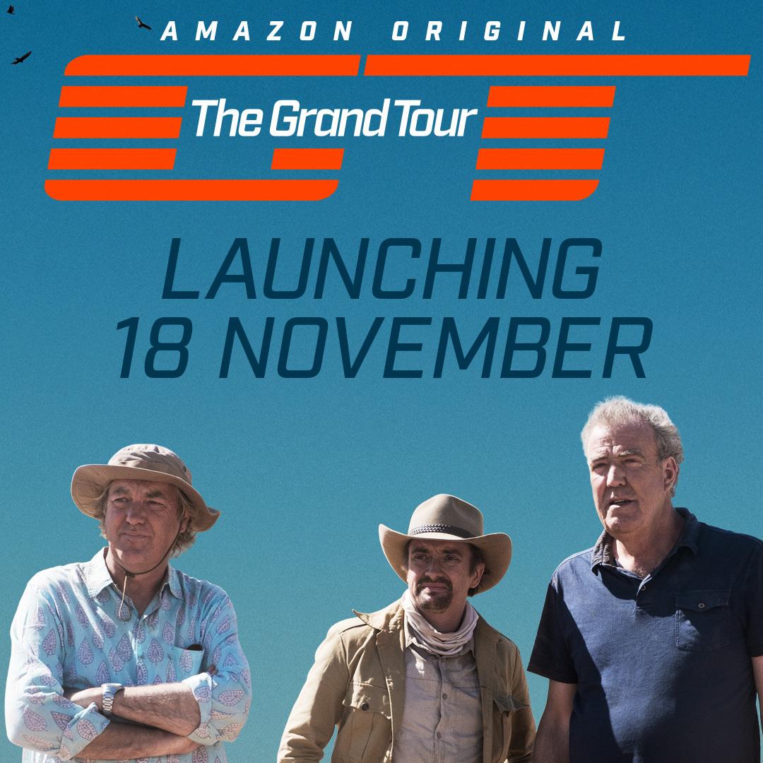 Трио экс-ведущих Top Gear запускает новое автомобильное шоу