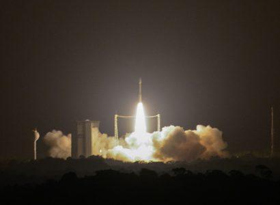 Ракета Vega с украинским двигателем успешно вывела на орбиту перуанский спутник и КА Google