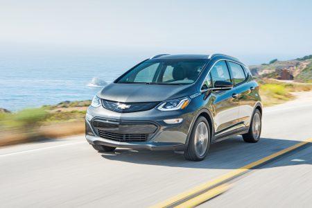 По данным EPA, электромобиль Chevy Bolt сможет проезжать без подзарядки более 380 км