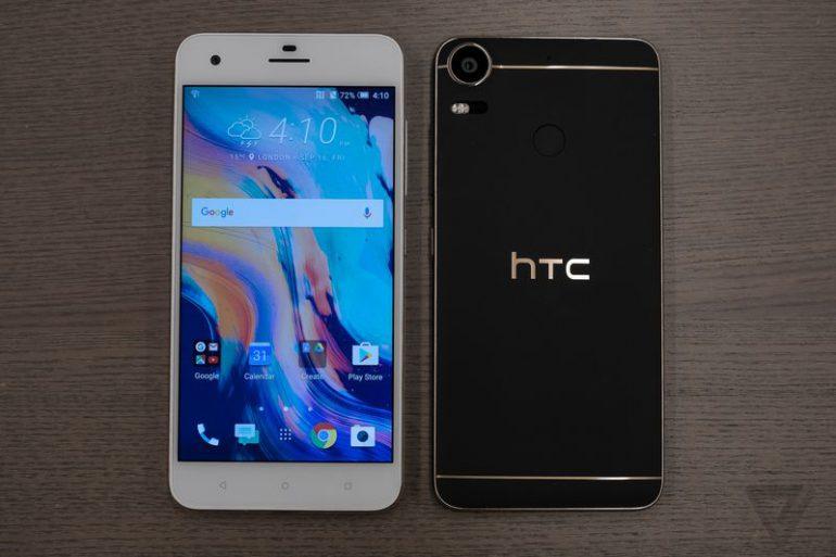 HTC выпустила смартфон Desire 10 в двух модификациях