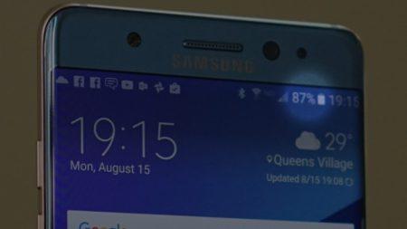 Индикаторы батарей новых и безопасных Samsung Galaxy Note7 будут зелеными, а старых и дефектных – белыми
