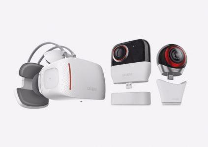 Alcatel показала автономную гарнитуру виртуальной реальности Vision с «начинкой» смартфона