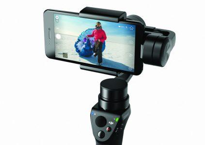 DJI представила Osmo Mobile — стабилизирующую систему для съемки со смартфонов на основе подвеса Zenmuse M1