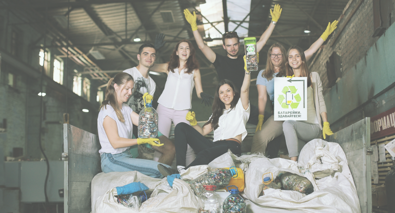 Активисты запустили краудфандинговую кампанию, чтобы решить проблему переработки выбрасываемых батареек