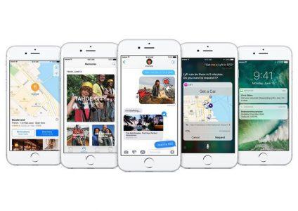 Вышли ОС iOS 10, watchOS 3 и tvOS 10