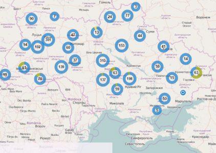 В Украине запустили электронную карту свалок